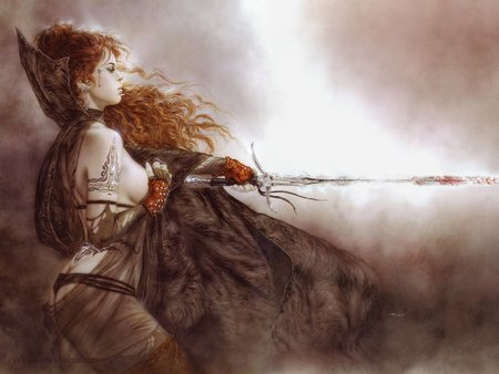 the five faces of hecate 2 - luis royo