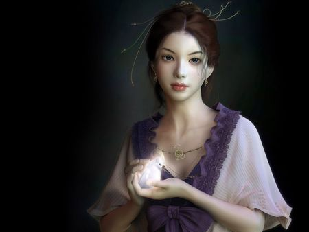 Lovely  Lady (Artwork) - fantasy, and, 3d and cg, kjun and, artwork