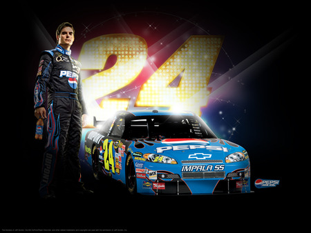 Nascar Wallpaper Jeff Gordon 24
