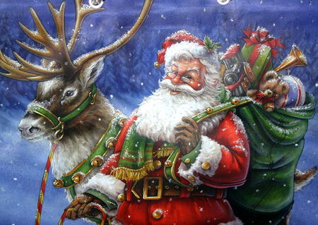 Jolly old Saint Nicholas - jolly, holidays, xmas, christmas