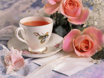 Tea and Roses~For Cherie