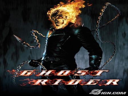 The Ghost Rider - Movies & Entertainment Background