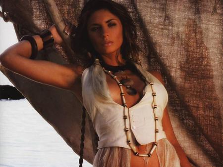 Ariane French Brunette Female Model Prett Woman Sexy