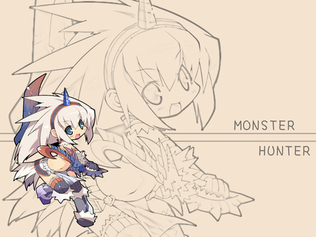 monster hunter - kirin, cute, monster, capcom, chibi, hunter