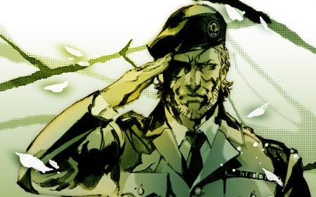 Mgs 3 Big Boss Metal Gear Solid Video Games Background