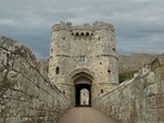 Gate Carisbrooke Castle, Wight UK