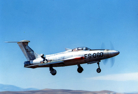 Republic XF-84H - x-plane, prop, fighter, navy