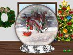 Christmas Snowglobe 001b