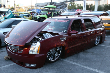 Caddy - show, cadillac, suv, caddy