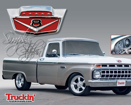 65 F100 - Ford & Cars Background Wallpapers on Desktop Nexus