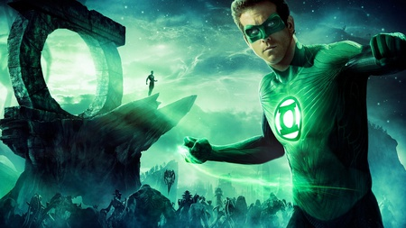 Green Lantern - entertainment, movies, green lantern, ryan reynolds, green, lantern