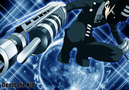 death the kid death cannon - anime, soul eater, death cannon, awsome, death the kid