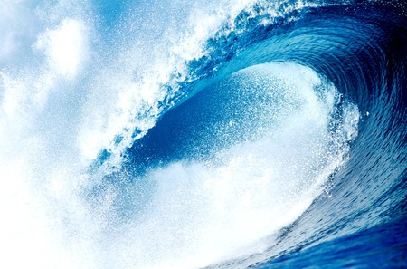 Tidal Wave - Oceans & Nature Background Wallpapers on ...