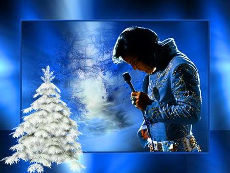 elvis white christmas