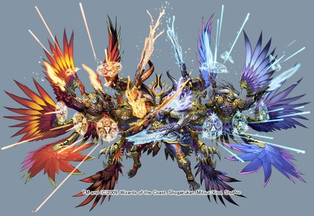 guardians - fire, summon, anime, ice, aion, guardian, hell, monster