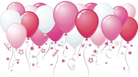 Image result for pink balloons