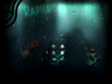 Big Daddy Bioshock Video Games Background Wallpapers On