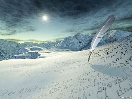 Writing Something On Icedesert - writing something on icedesert, smoothsqu4d
