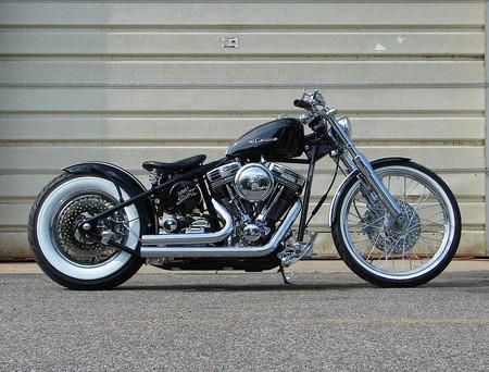 Hardtail Harley Davidson bobber - motorcycle, hardtail, harley, davidson, bobber