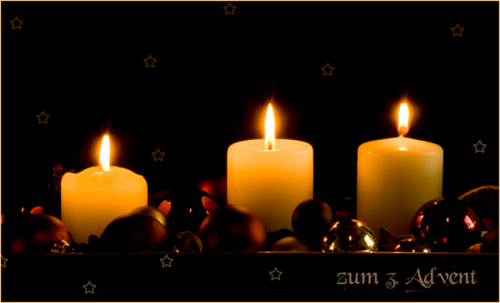 3 advent candles other abstract background wallpapers. Black Bedroom Furniture Sets. Home Design Ideas