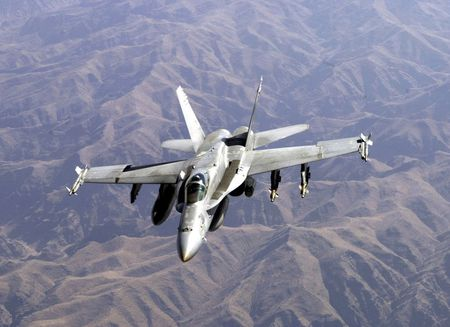McDonnell Douglas F-18 Hornet - united states air force, us air force, f 18, f 18 hornet