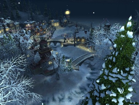 Christmas Land.Christmas Land Winter Nature Background Wallpapers On