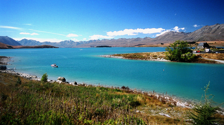 lake tekapo - new zealand, tekapo, lake, blue