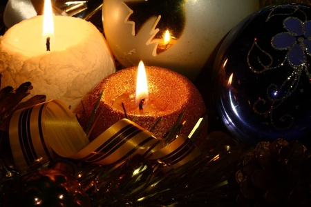 Candle Light - candle, light, christmas, candles