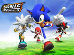 Race Against  The Clock Sonic vs.Silver vs.shadow vs.Knuckles