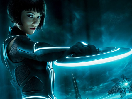 Olivia Wilde in Tron Legacy - pretty, amazing, babe, lovely, tron legacy, model, fantastic, beautiful, olivia, sexy, tron, wilde, hot