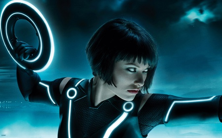 Olivia in Tron Legacy - amazing, lovely, sexy, tron, olivia, hot, babe, pretty, fantastic, model, tron legacy, wilde, beautiful