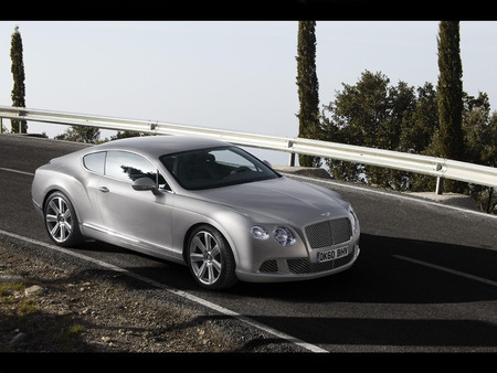2012 Bentley GT Continental - continental, bentley, 2012, car