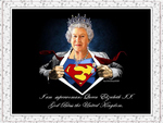 Queen Elizabeth II-Superwoman