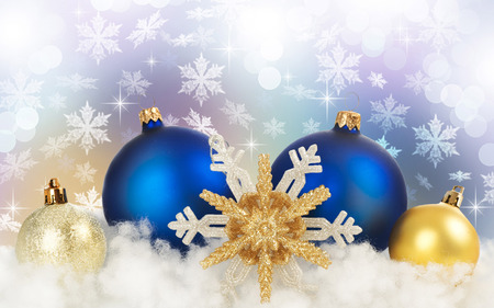 blue and gold christmas - Blue And Gold Christmas Decorations