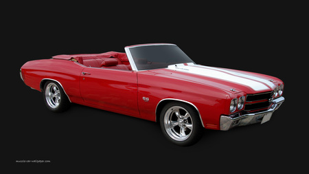 1970 Chevrolet Chevelle SS 454 convertible - muscle, car, chevelle, chevy, classic