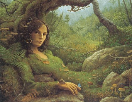 mother earth - fantasy, earth, girl