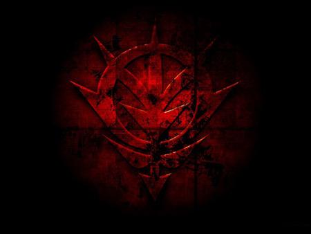 Zeon Symbol red  Zeon Flag Wallpaper