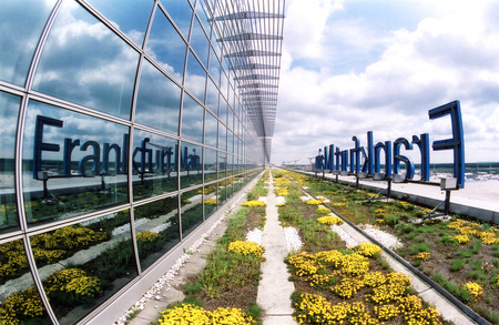 Frankfurt International Airport (FRA) - fraport ag, 2009 greenroofs calendar, green roofs