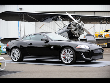 Jaguar XKR175 - xkr, 2011, black, 175