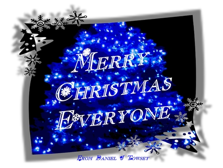 Merry Christmas Everyone - Photography & Abstract Background ...