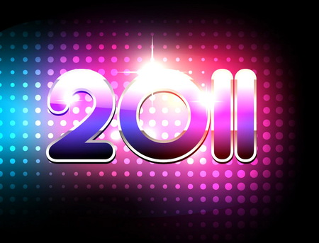 Happy 2011 - plenty, best wishes, 2011, new year