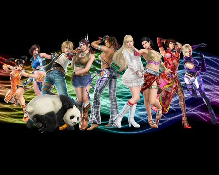 tekken girls - video game, tekken girls, tekken, anime
