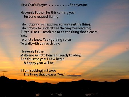 New year prayer sunrise - sunrise, sunset, holiday, quote, new year, prayer