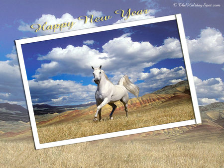 Happy New Year Horse Images 84