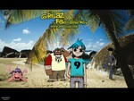 Gorillaz' Day at the Beach