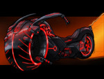 The Tron Light Cycle Concept