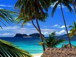 Pangulasian island Philippines