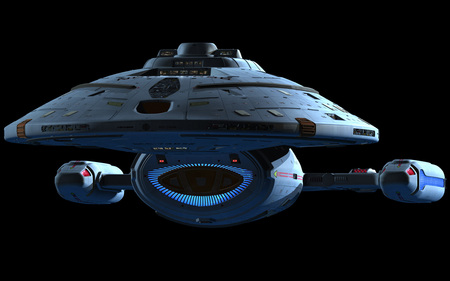 Voyager - star trek, voyager, starship, intrepid class