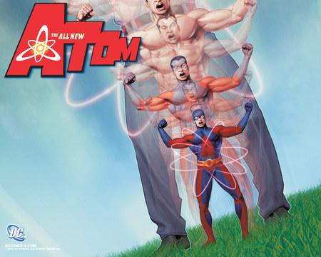 Atom - fantasy, dc, atom, comic