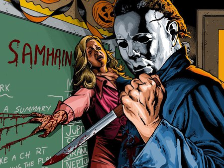 Michael Myers Fantasy Abstract Background Wallpapers On